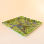 "10"" Square plate: How Green is my Valley"
