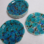 "Set of six Seaforms lunch, salad, or dessert plates (8"")"