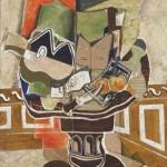 1929 Cubist still life by George Braque