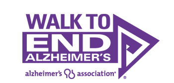 Alzheimer's Association walk logo