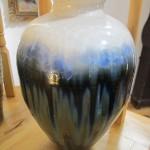 Crystalline glaze jug