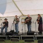 Bluegrass Gospel stage