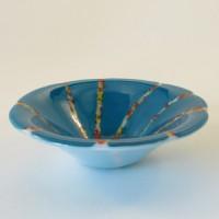 Kiln-formed cmall cone bowl