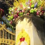 Entrance gate to Philadelphia Flower Show