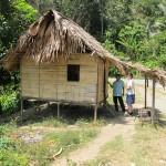 Aboriginal hut