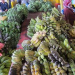 Bananas at the KK market