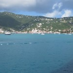 Turquoise waters at St Thomas