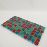 fused glass plateau