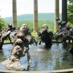 Benglis fountain