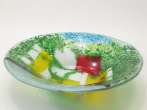 kiln-formed serving bowl